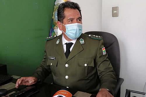 Coronel Douglas Uzquiano asume como Director Departamental de la FELCC-La Paz