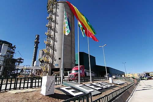 Ecebol reinicia sus operaciones con la meta de producir 545.730 toneladas de cemento hasta diciembre