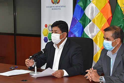 Montaño instruye intervenir ABC-Santa Cruz y sanción a empresas para rehabilitar la vía Santa Cruz - Yapacaní
