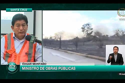 Gobierno investigará las causas del incendio que afectó más de 1.700 hectáreas en Santa Cruz
