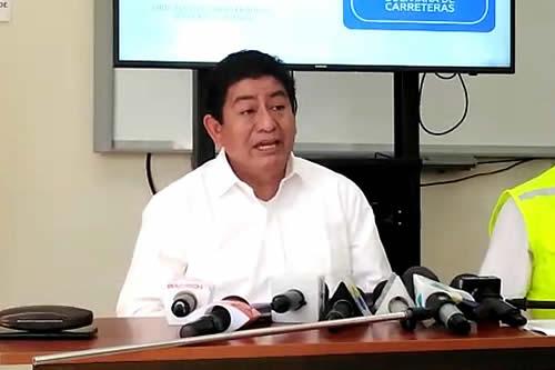 Ministro advierte que un día de paro causará la pérdida de Bs 6 millones solo para el Ministerio de Obras Públicas