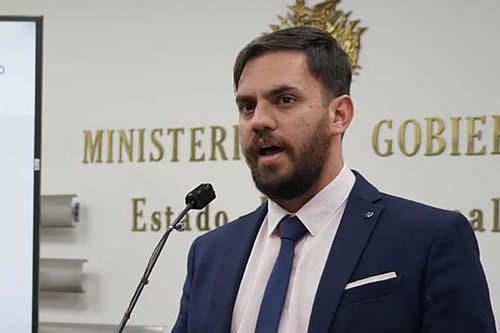 Del Castillo dice que en noviembre de 2019 ingresó al país desde Ecuador armas, proyectiles y granadas