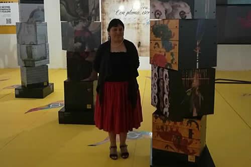 Elvira Espejo, la primera mujer indígena en recibir medalla Goethe, continuará con orgullo promoviendo la cultura de Bolivia