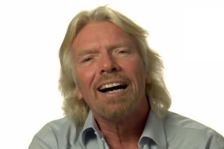 El billonario y filántropo Richard Branson nos da sus consejos para emprendedores
