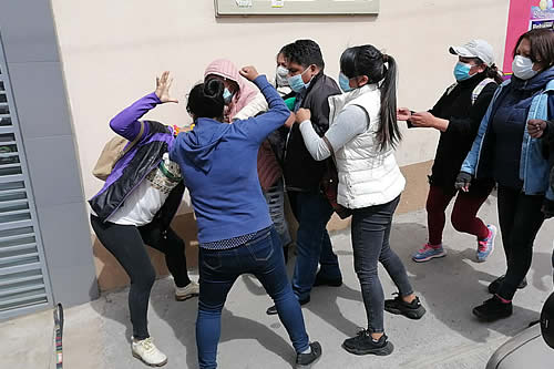 Defensoría del Pueblo reporta que el paro cívico fue parcial, aunque con amagues de enfrentamiento