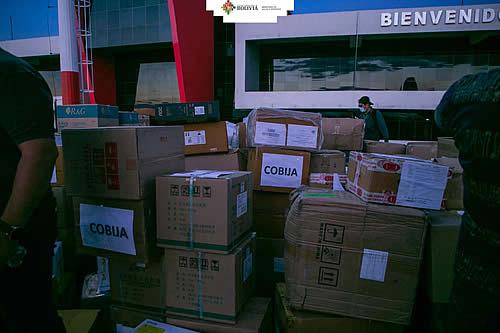Gobierno entrega equipos, medicinas e insumos por valor de Bs 8 millones en Pando para luchar contra el COVID-19