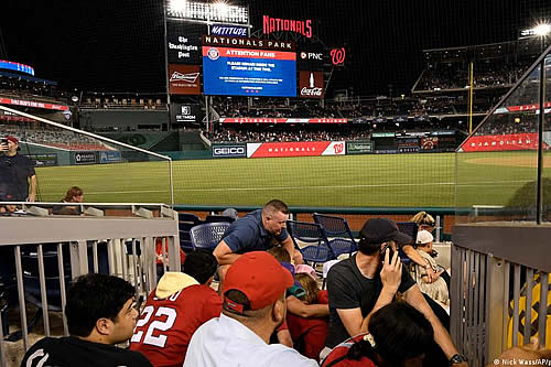 Tiroteo en Washington deja cuatro heridos frente a estadio de béisbol