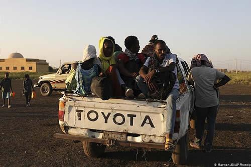 """ONU: """"Crisis humanitaria a gran escala"""" en frontera entre Etiopía y Sudán"""