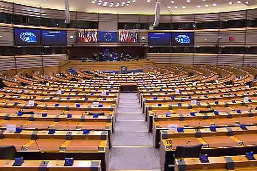 Europarlamento aprueba resolución que pide la inmediata liberación de Añez y sus exministros