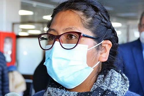 Eva Copa: 'en mi ciudad no va a haber cuarentena rígida, así me critiquen'