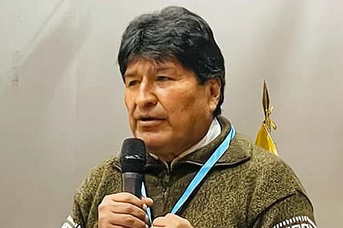 Evo Morales asevera que Rómulo Calvo expresa su impotencia por el fracaso del paro cívico