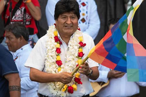 Evo Morales: 'La verdad se impone a la falsedad que busca impunidad'