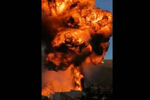 Reportan incendio y explosión en instalaciones del Sedcam en el municipio de Camargo