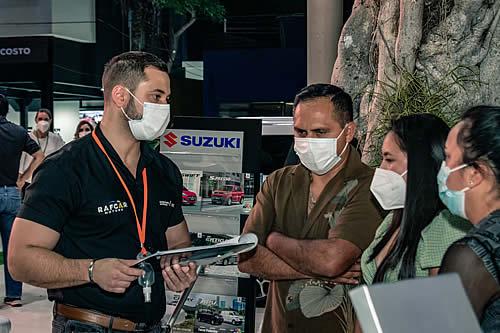 Cerca de 40.000 personas visitaron la Expocruz en su inauguración