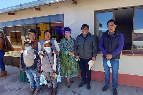Construyen unidades habitacionales con Bs 3 millones para familias vulnerables en El Alto