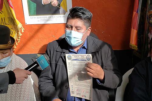 Fejuve advierte que no permitirá paros en La Paz