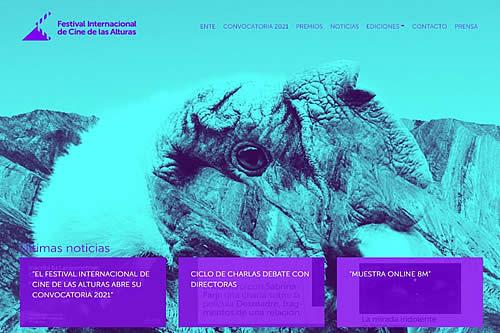 Festival Internacional de Cine de las Alturas abre su convocatoria para la versión 2021