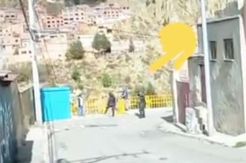 Comandante de la Policía de La Paz por supuestos infiltrados: 'No son policías de civil, son cocaleros'