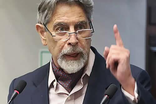 Congreso de Perú aprueba a Francisco Sagasti como presidente interino del país
