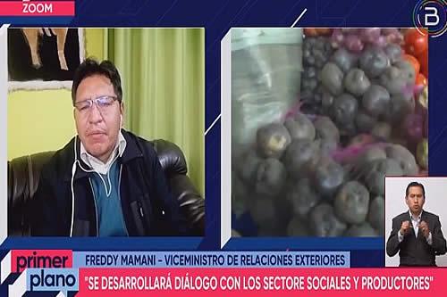 Bolivia comienza tres jornadas de diálogo nacional para definir propuesta con miras a Cumbre sobre los sistemas alimentarios