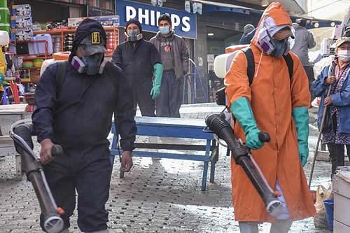 Municipio de La Paz estima que pico de contagios será entre la primera y segunda de julio