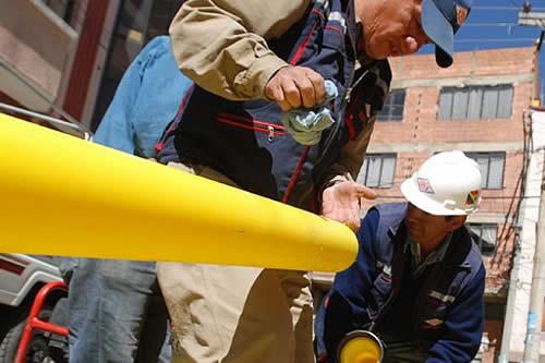 YPFB proyecta instalación de gas domiciliario para cerca de 200 familias de Catavi y Llallagua