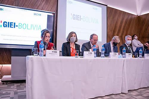 El GIEI hará público su informe sobre hechos de 2019 en Bolivia entre el 16 al 20 de agosto
