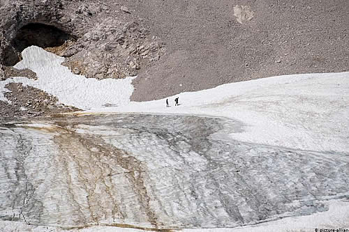 Informe: el último glaciar de Alemania podría desaparecer en 10 años