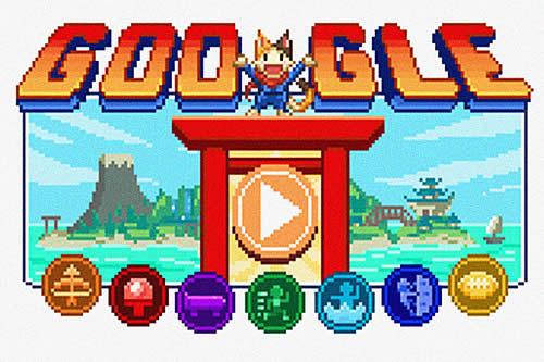 Google lanza su mayor 'doodle' en forma de videojuego para celebrar el inicio de los JJ.OO. de Tokio