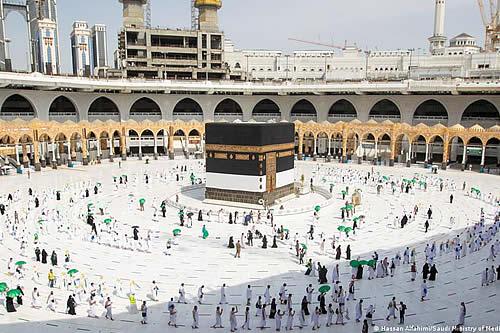 Comienza la peregrinación anual a la Meca, la segunda durante la pandemia