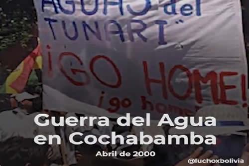 """Presidente Arce recordó el triunfo del pueblo en la """"Guerra del Agua"""""""