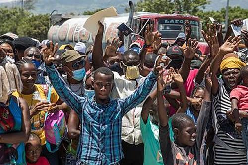 Haitianos reclaman justicia en caso de magnicidio de Jovenel Moïse