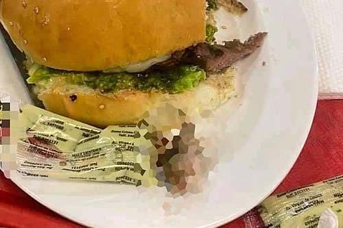 Confirman que es real el dedo hallado en hamburguesa en Santa Cruz e investigan a restaurante