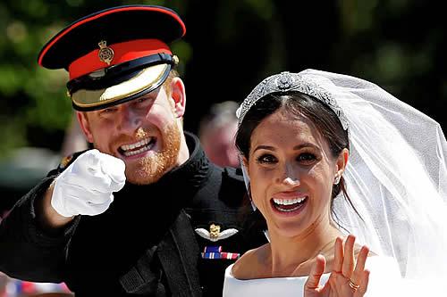 Un cura revela que Harry y Meghan Markle mintieron sobre su boda