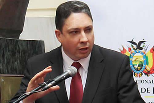 Rodríguez afirma que designación de Héctor Arce como embajador ante la OEA se oficializará en próximos días