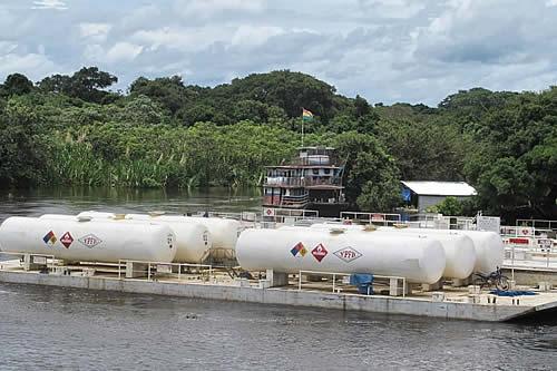 YPFB transporta 6,8 millones de litros de combustibles a Beni y Pando por la Hidrovía Ichilo-Mamoré