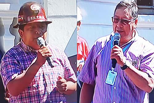 COB reafirma su compromiso de apoyo al gobierno y Arce pide fortalecer sindicatos
