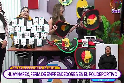 """Invitan a la primera feria """"Huaynafex"""" en el polideportivo de la ciudad de El Alto"""