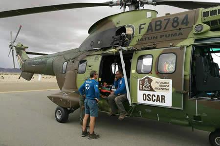 Pilotos del Dakar que sufrieron accidentes y fueron ingresados a hospitales están estables