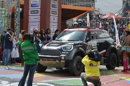 Director del Dakar dice que es un día histórico para la competencia: agradece hospitalidad boliviana