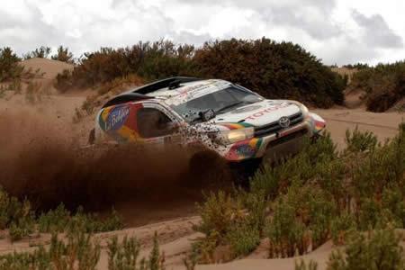 Rodrigo Gutiérrez, el mejor boliviano en la categoría de autos