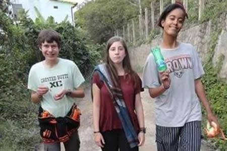 Malia Obama hizo voluntariado y recorrió Cordillera Real en Bolivia
