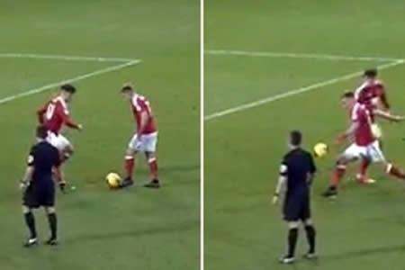 Jugador del Nottingham Forest anotó un golazo de volea
