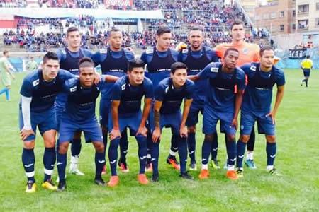 Bolívar muestra poco pero gana a Nacional Potosí (3-2)
