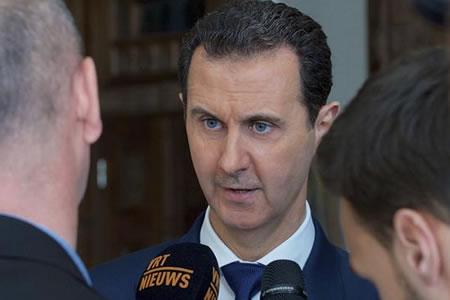"""Al Asad acusa a Europa de hacer """"seguidismo"""" político de EE.UU. en Siria"""
