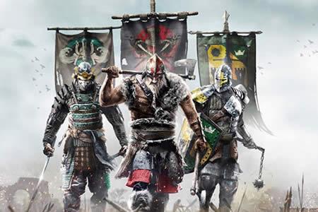 """Caballeros, vikingos y samuráis se enfrentan en el videojuego """"For Honor"""""""