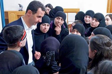 """Asad tacha de """"falso"""" el informe de AI sobre ejecuciones en cárceles sirias"""