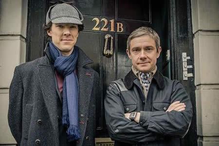 El Sherlock Holmes de Cumberbatch, el favorito para audiencia internacional