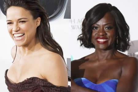 """Michelle Rodríguez actuará junto a Viola Davis en el thriller """"Widows"""""""