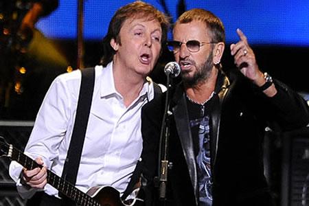 Paul McCartney y Ringo Starr juntos tras siete años para sesión de estudio